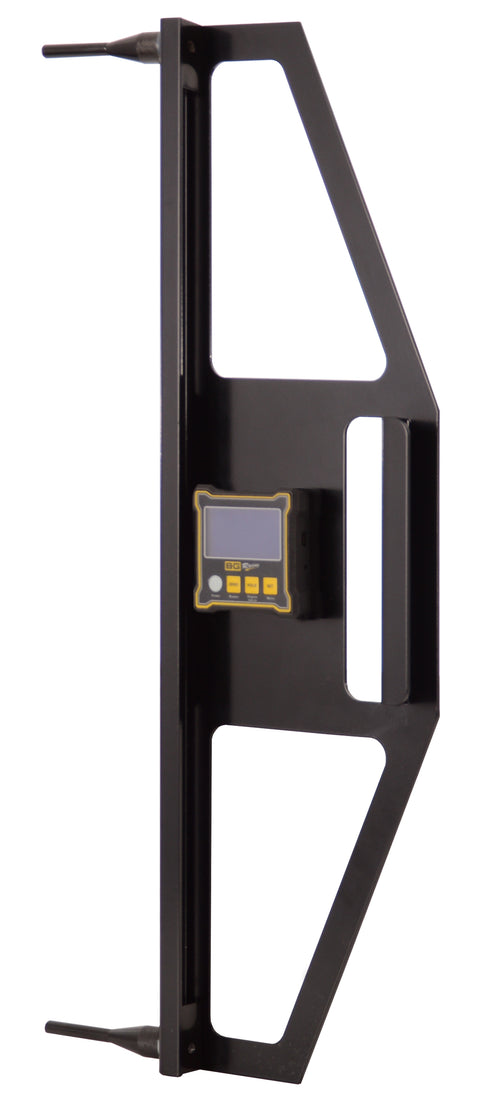Aluminium Camber Frame With Digital Dual Axis Angle Gauge