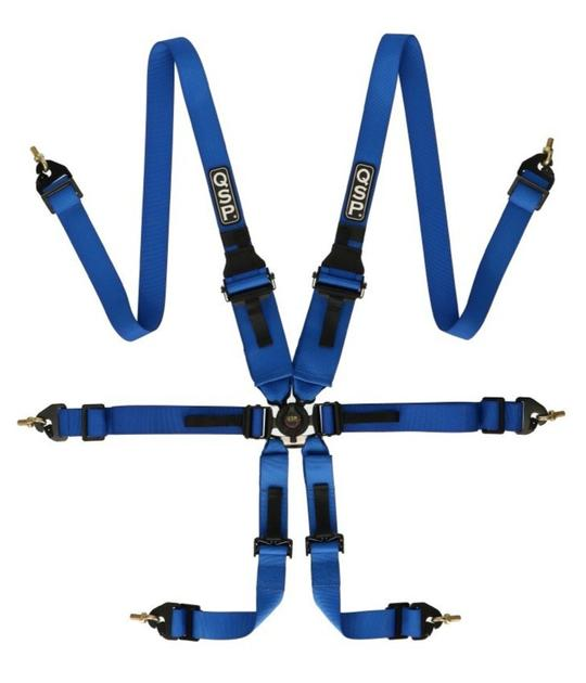 6-point FIA FHR Endurance Harness
