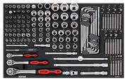 S8 - Filled Tool Trolley - 206pcs