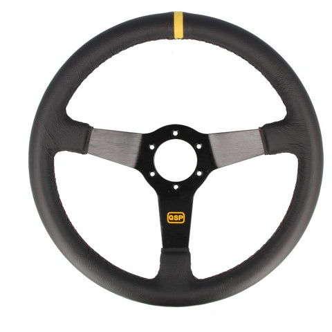 Dished Leather Steering Wheel (70mm)