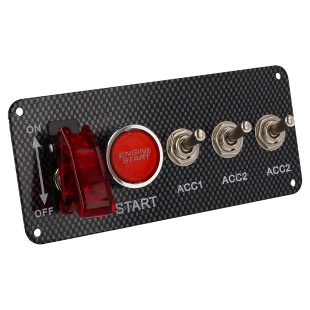 Starter Panel 3-Switch (Carbon)