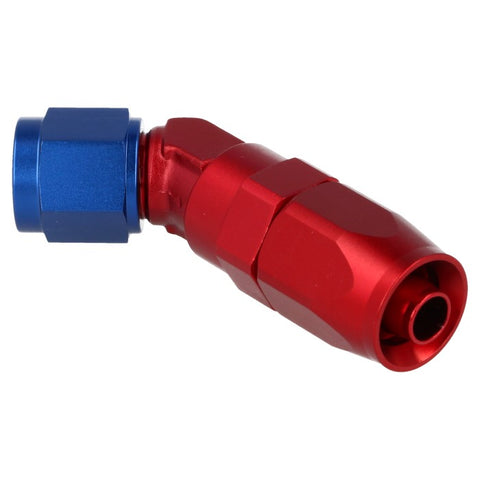 Lightweight Hose End 45° Forged - Braided Nylon