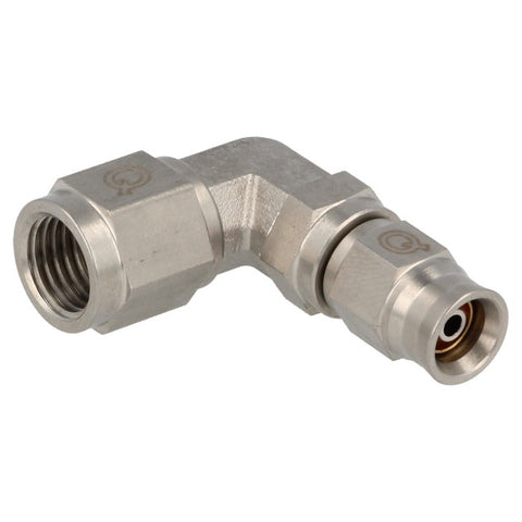 Brake Hose End 90° Female / Female