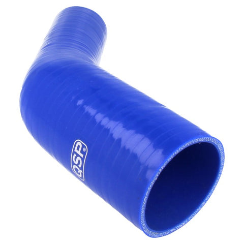 QSP Silicone reducer bend 45° 76 - 70 mm