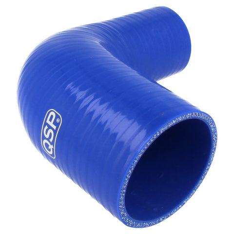 QSP Silicone reducer bend 90° 76 - 70 mm