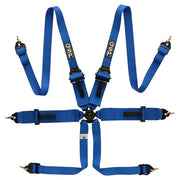 6-point FIA FHR Touring Harness