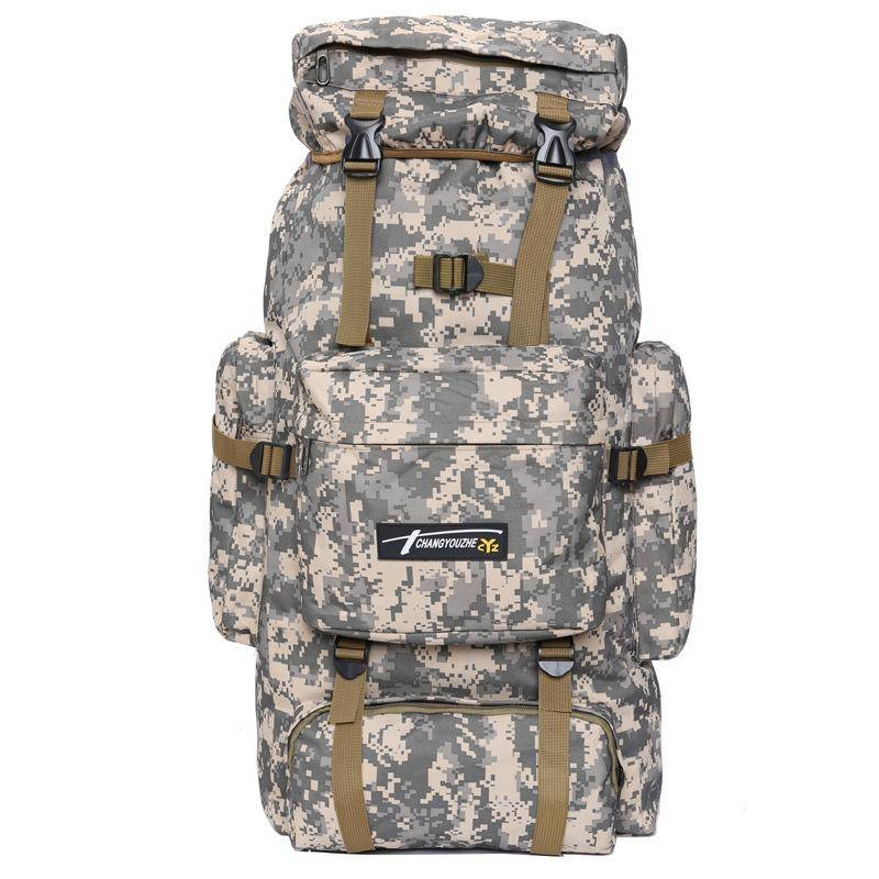 70L Outdoor Backpack Molle Military Tactical Backpack