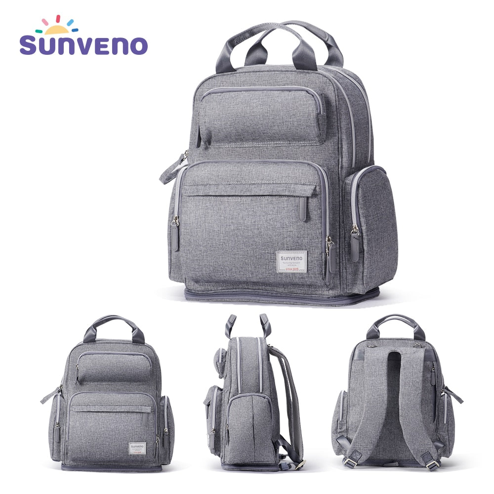 Sunveno Large Capacity Stylish Diaper Bag