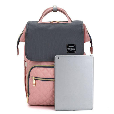 LEQUEEN Diaper Bag With USB Port