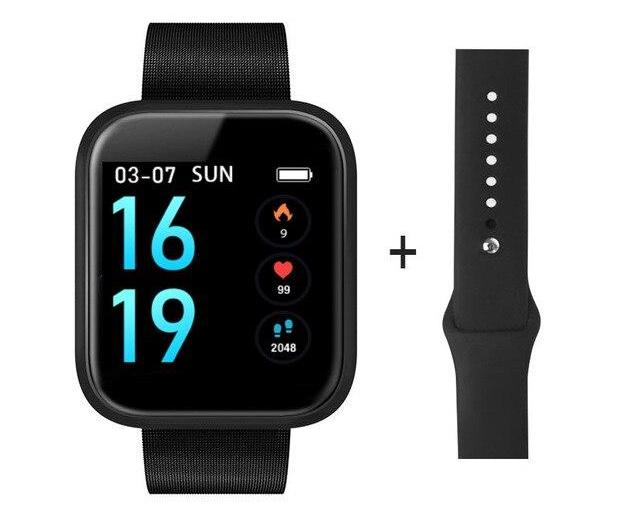 PEACHFIT T80 Heart Rate Blood Pressure Unisex Smart Watch