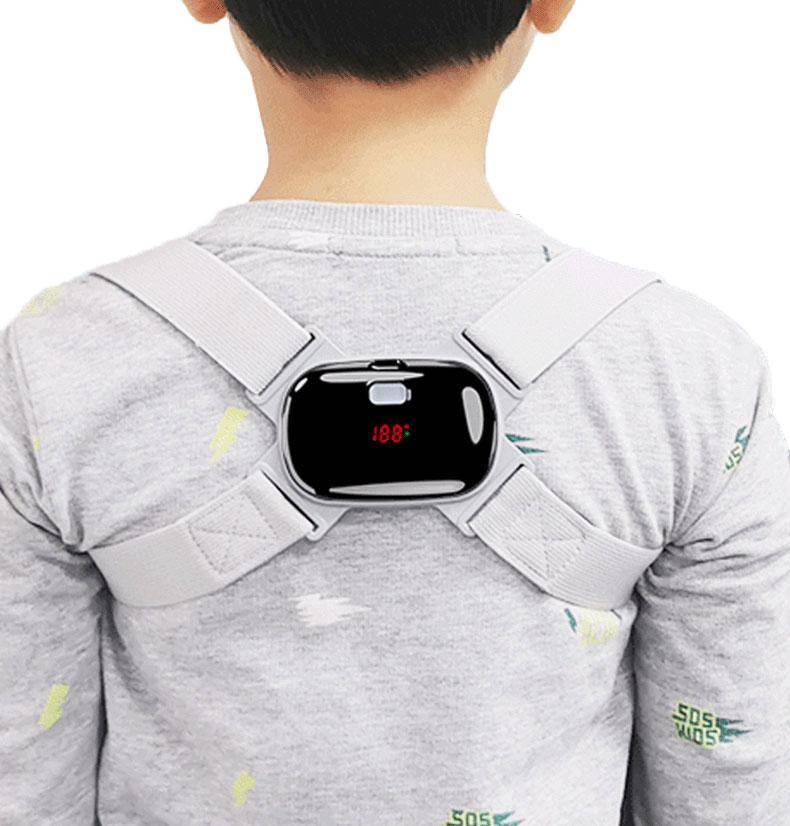 LCD Display Adjustable Smart Back Posture Corrector Intelligent Brace