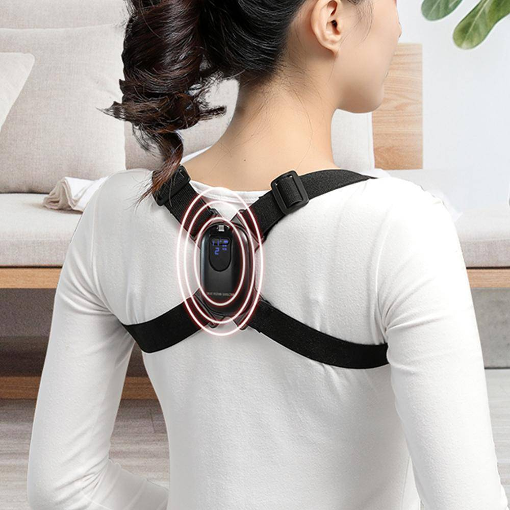 LED Display Posture Corrector Intelligent Brace Support