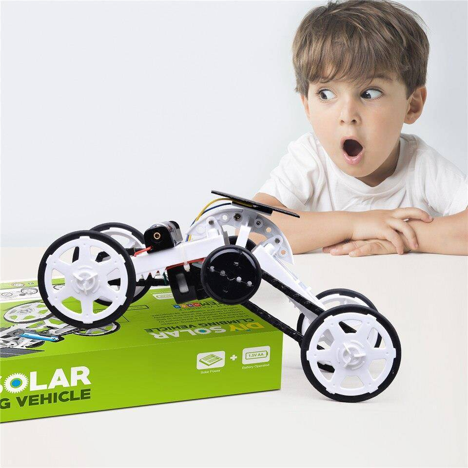 Solar DIY Climbing Car Kit