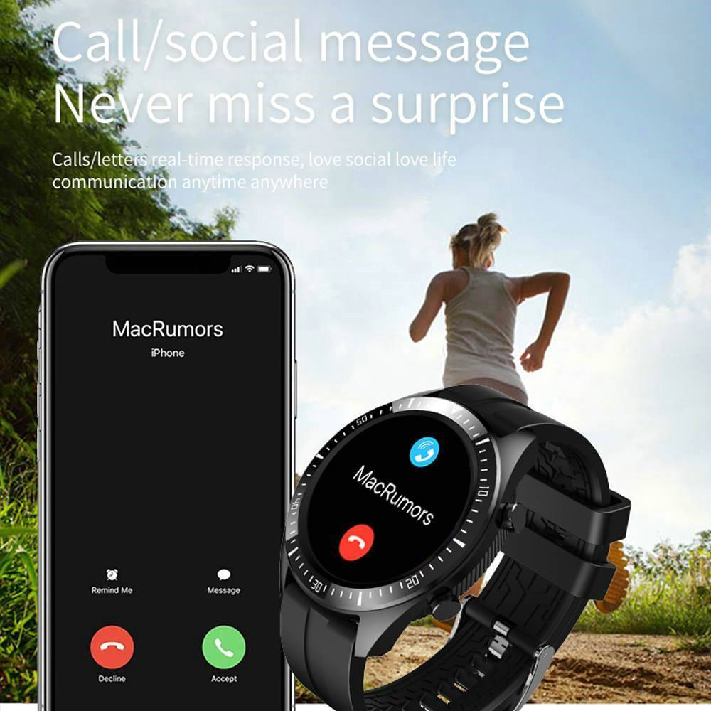 Q85 Smartwatch Men Women Bluetooth 5.0 Smart Watches IP68 Waterproof Smart Watch Heart Rate Blood Pressure Monitor