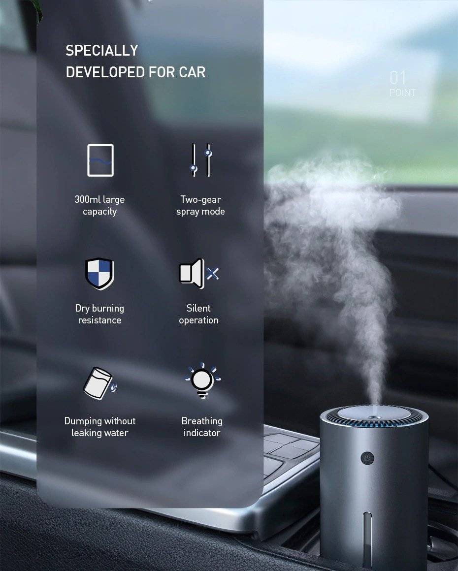 Baseus Hydra Car Humidifier