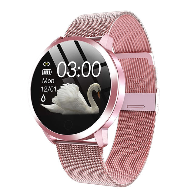 MELANDA Women Waterproof Heart Rate Monitor Smart Watch