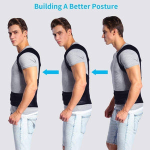 Adjustable Posture Corrector Back Brace Hunching Back Trainer