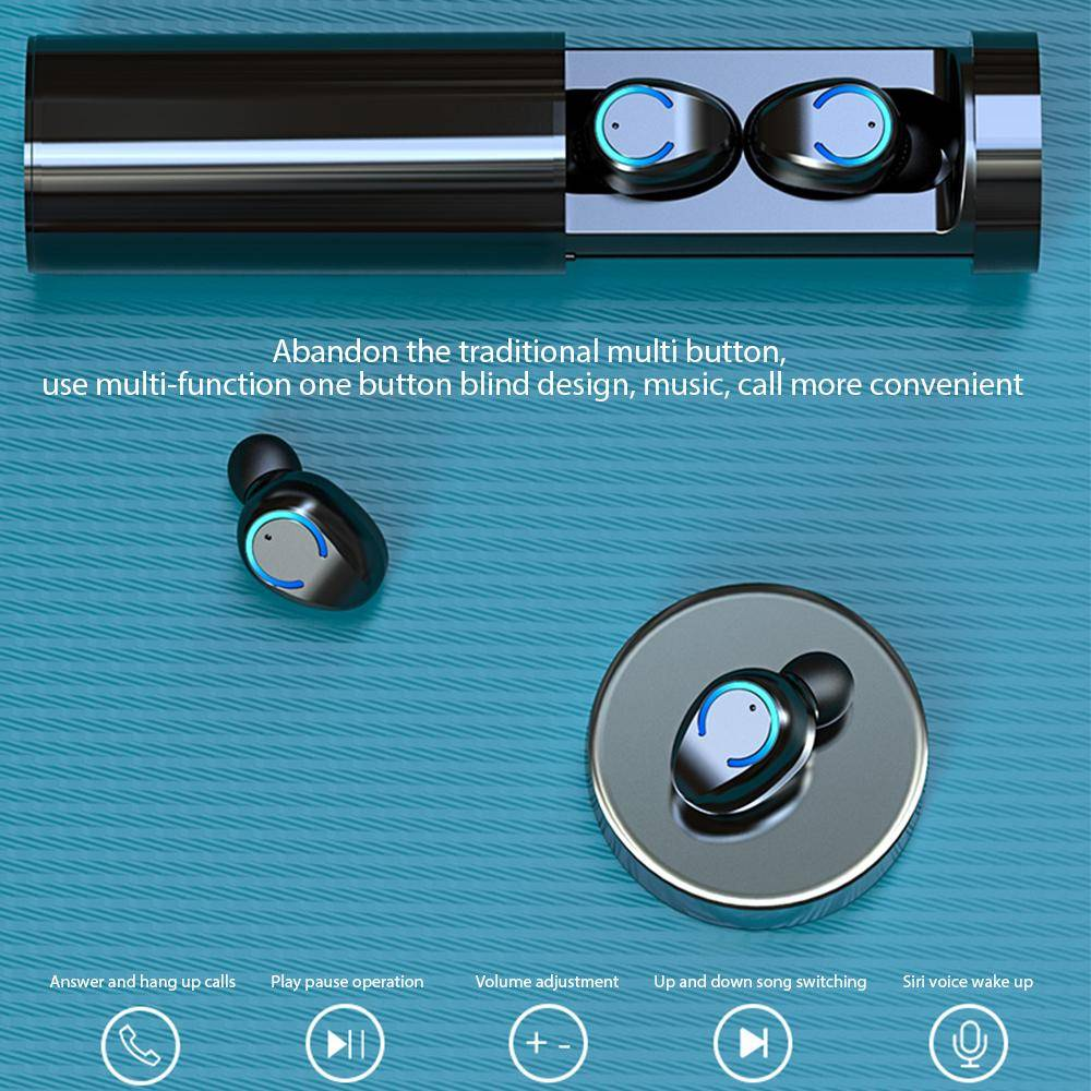 5.1 Wireless Touch Control HIFI Sport Earbuds