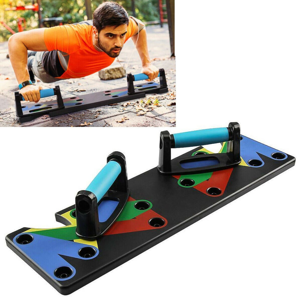 9 in 1 Fitness Workout Training Push Up System Rack Board