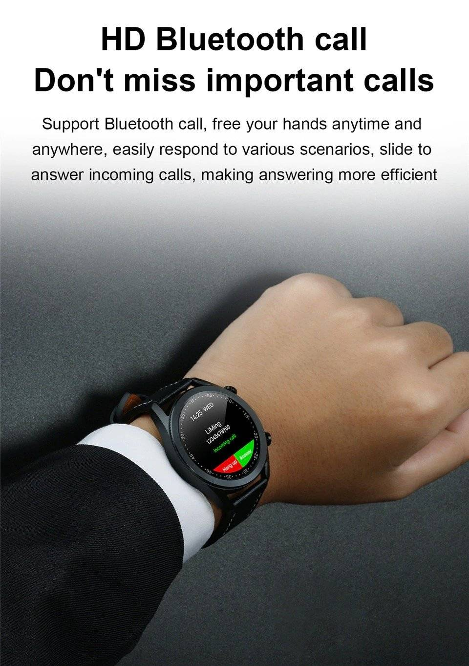 I12 Touch Screen Unisex Smart Watch
