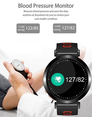 M10 Heart Rate Blood Pressure Smart Watch