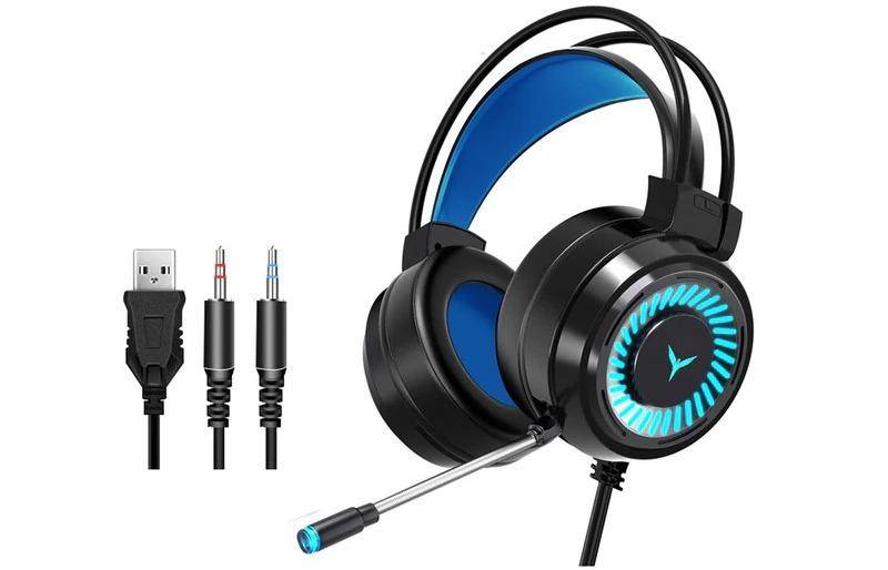 Surround Sound Stereo Wired Gaming Headset