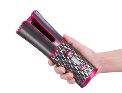 Cordless USB Rechargeable Hair Curler