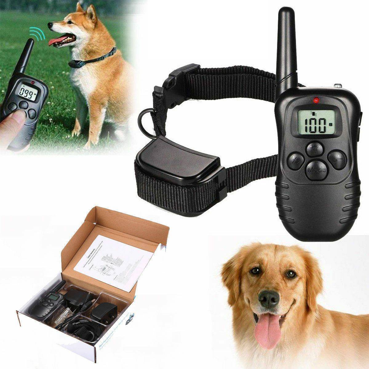 Waterproof Electric Dog Shock Collar With Remote Control