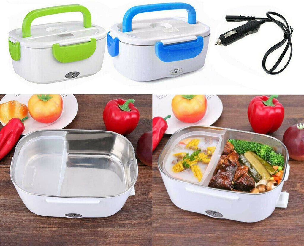 Portable 12V Car Electric Heating Lunch Box