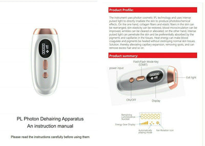 5 Levels IPL Hair Removal Device
