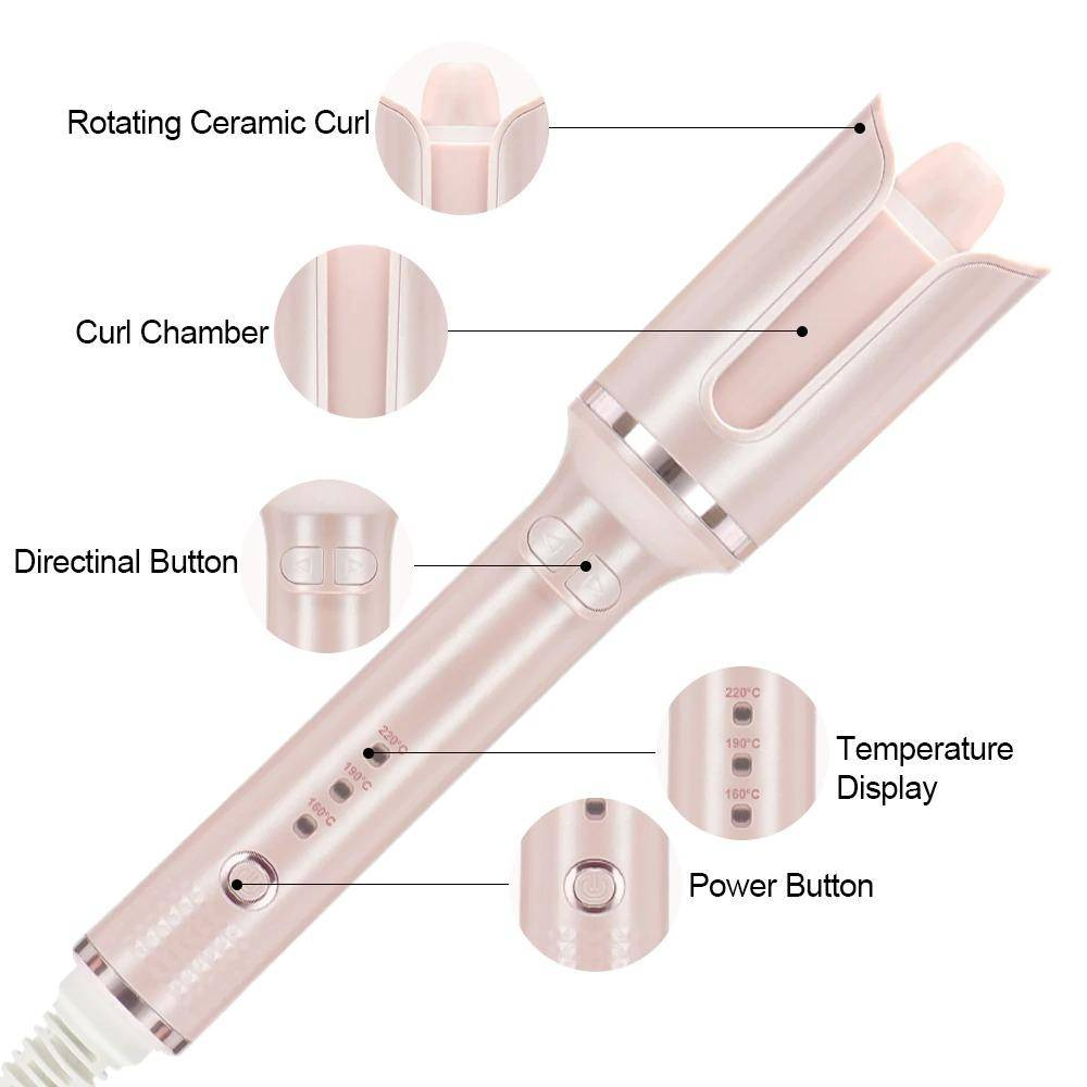 Automatic Ceramic Auto Rotating Hair Curler