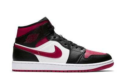 AIR JORDAN 1 MID NOBLE RED [554724 066]