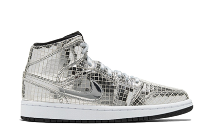 WMNS AIR JORDAN 1 MID SE DISCO BALL [CU9304 001]