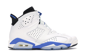 AIR JORDAN 6 RETRO SPORT BLUE [384664 107]