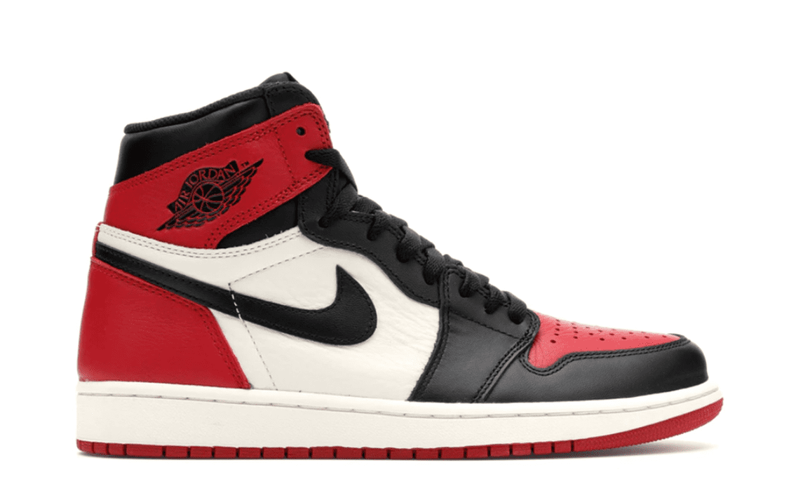 AIR JORDAN 1 RETRO HIGH OG - BRED TOE [555088 610]