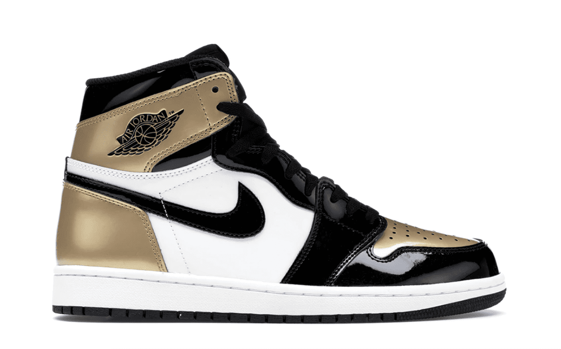 "AIR JORDAN 1 RETRO HIGH OG NRG ""GOLD TOE"" [861428 007]"
