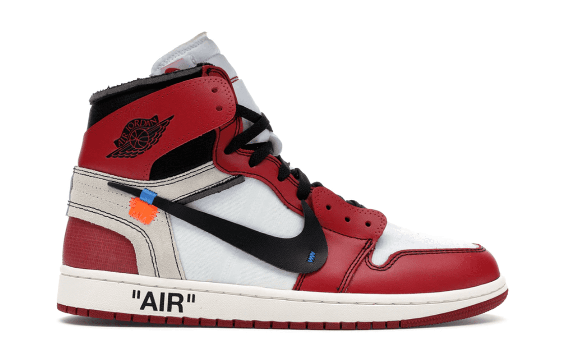 OFF WHITE THE 10: AIR JORDAN 1 CHICAGO [AA3834 101]