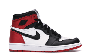 WMNS AIR JORDAN 1 HIGH OG SATIN BLACK TOE [CD0461 016]