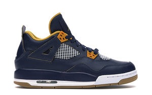 AIR JORDAN 4 RETRO BG - NAVY/GOLD [408452 425]