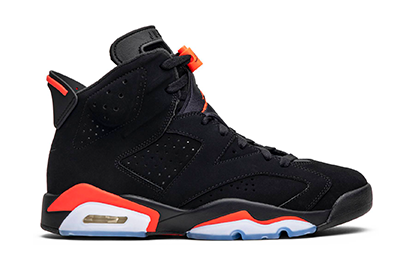 AIR JORDAN 6 RETRO INFRARED 2019 [384664 060]