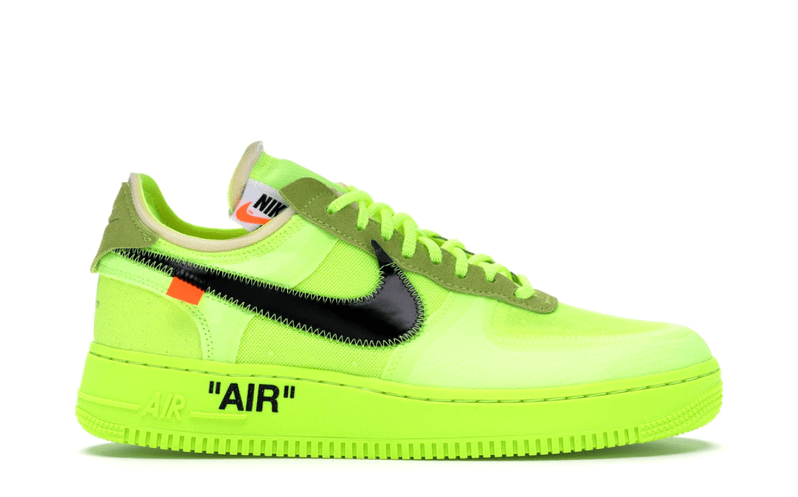 OFF WHITE THE 10: NIKE AIR FORCE 1 LOW VOLT [AO4606 700]