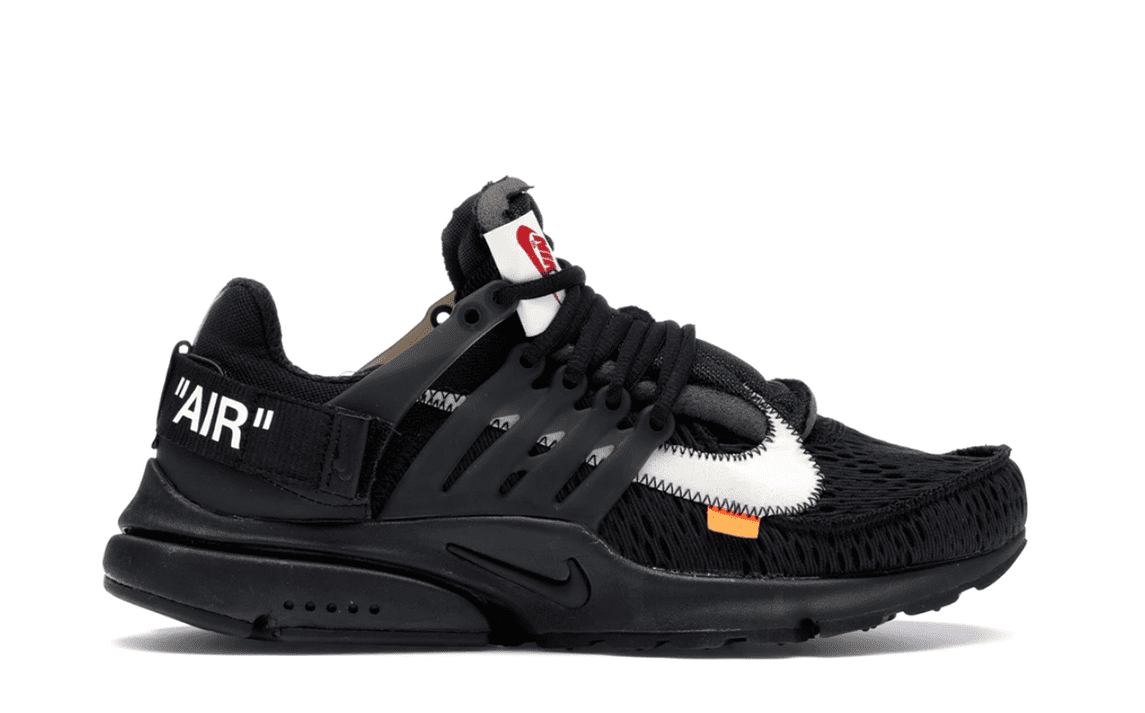 OFF WHITE THE TEN: NIKE AIR PRESTO OFF BLACK [AA3830 002]