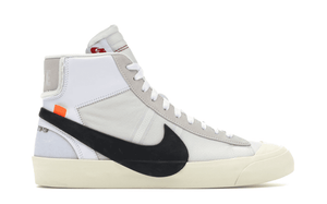 OFF WHITE THE 10: NIKE BLAZER MID [AA3832 100]
