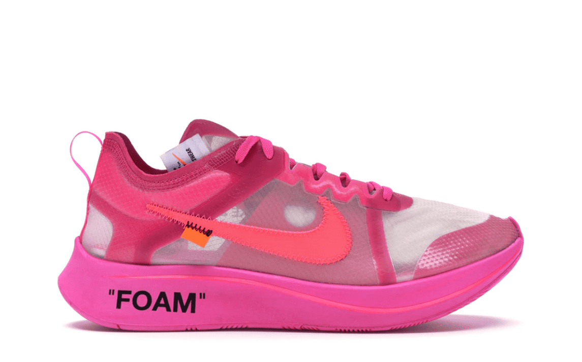 OFF WHITE THE 10: NIKE ZOOM FLY PINK [AJ4588 600]