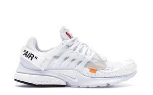 OFF WHITE THE 10: NIKE AIR PRESTO - WHITE [AA3830 100]