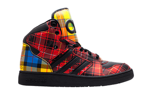 adidas x JS INSTINCT HI - RED CHECK [Q23667]