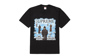 SUPREME LEVITATION TEE [FW19T33-BLACK]