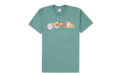 SUPREME PILLOW TEE DUSTY TEAL