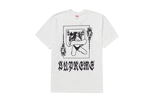 SUPREME QUEEN TEE [FW19T11-WHITE]