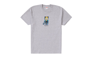 SUPREME GHOST RIDER TEE [SS19T16-GREY]